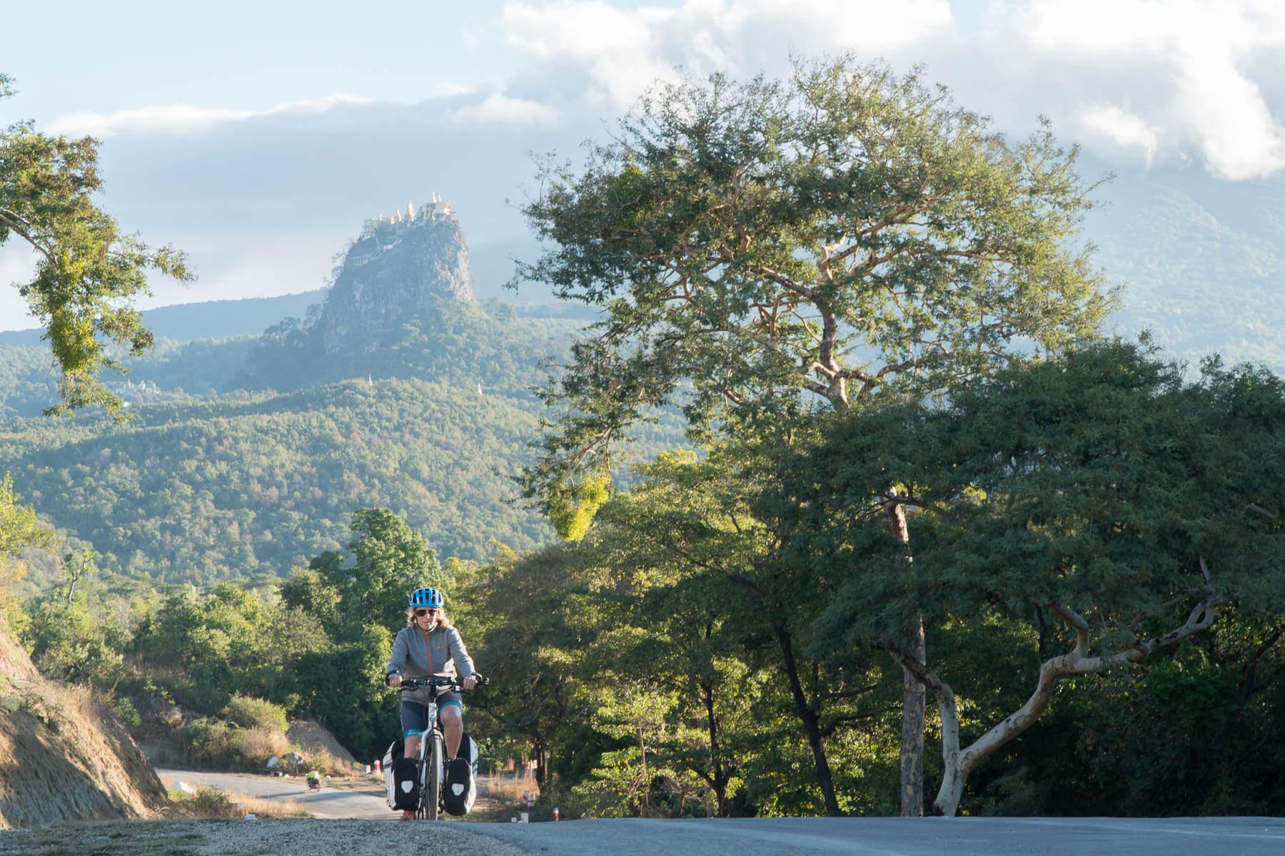 Weg van Mt Popa