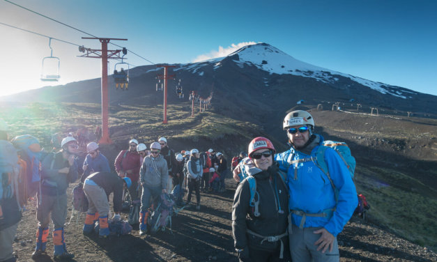 Beklimming Villarica Vulkaan