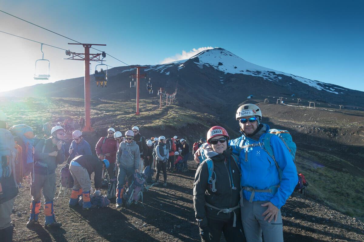 Villarica vulkaan