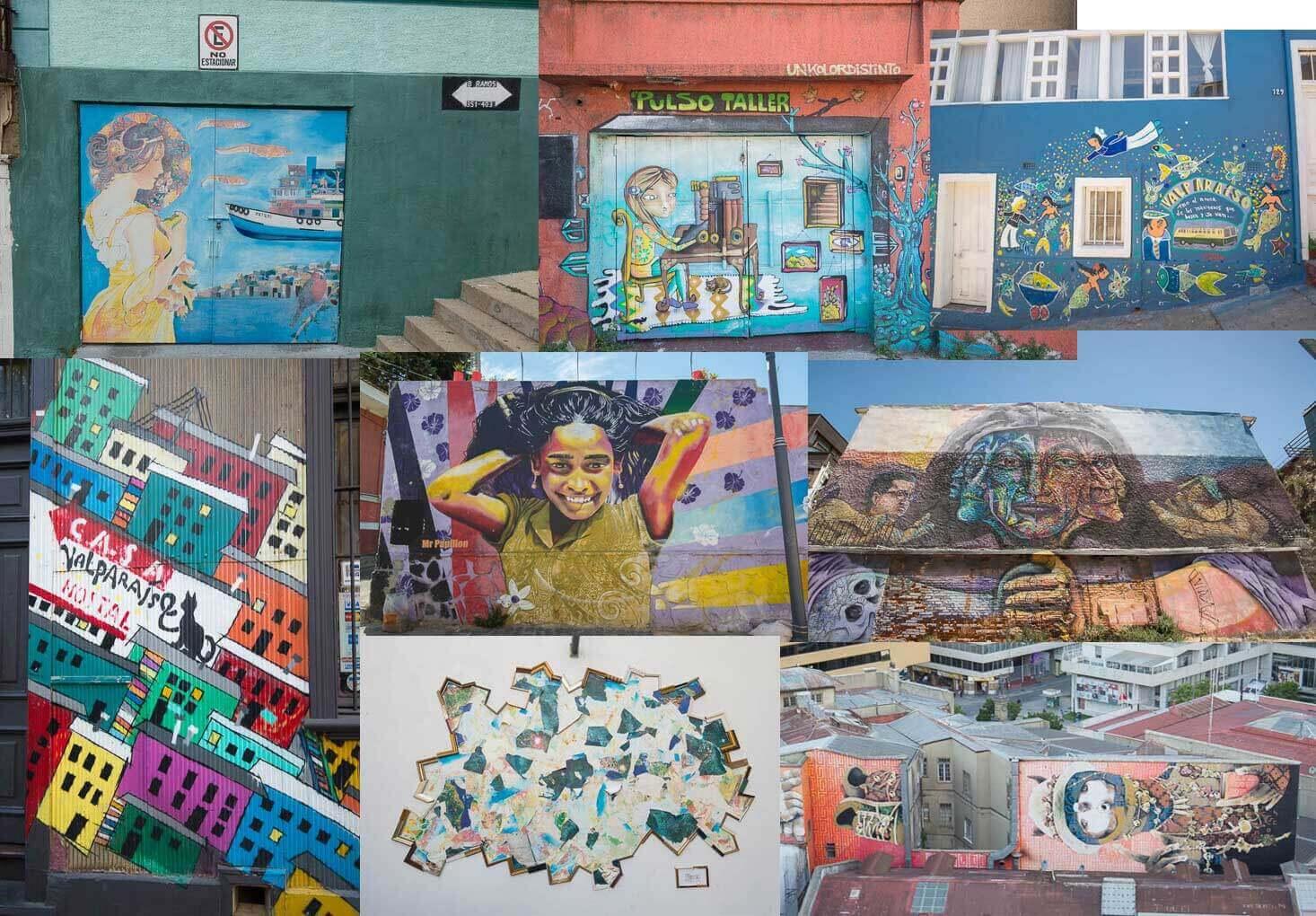Straatkunst Valparaiso
