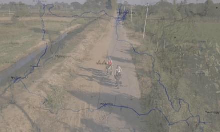 Myanmar op de fiets