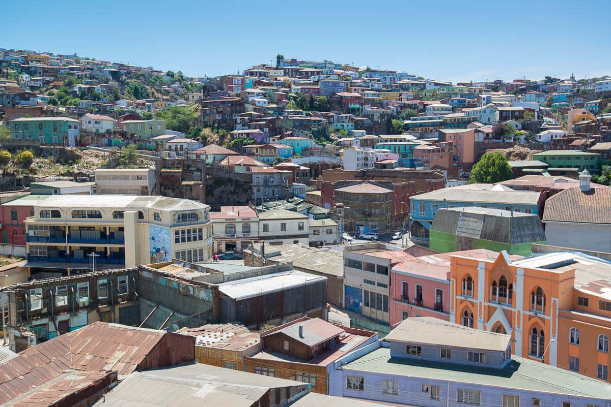 Heuvels van Valparaiso